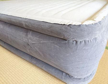 パンパンなベッドが完成