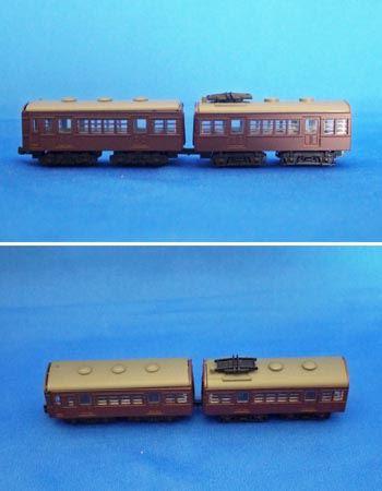 クハ79422とモハ72の組み合わせで作りました