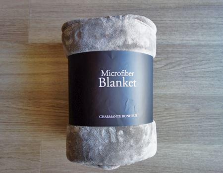 CHARMANTE BONHEUR マイクロファイバー毛布