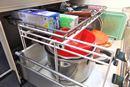 さあ大掃除! 散らかりがちなシステムキッチンの「引き出し整理大作戦」