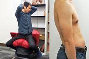 40代男性が4週間トライ! パナソニック「コアトレチェア」でぽってり腹はへこむのか?