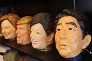 トランプから芸人まで——有名人そっくりマスク工場に潜入!