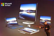 3つのSurfaceが登場! 2in1のPro、ノートパソコンのLaptop、デスクトップのStudio