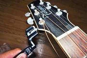 ギターの弦交換があっという間! ニッパー付きの便利ワインダー