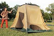 初めてのファミリーキャンプには設営しやすく快適な「ドームテント」が最適!
