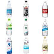 強炭酸が人気! 新「無糖炭酸水」9本をフードアナリストが飲み比べ