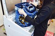 """""""プカプカ浮かない""""洗浄と快適さがウリのシャープの縦型洗濯乾燥機誕生!"""