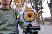 想定外のオモシロさ! タカラトミーのキッズカメラ「プレイショット」でギークな小学生が遊んでみた