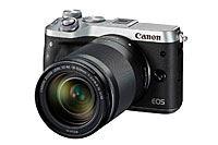 キヤノンのミラーレス一眼カメラ「EOS M6」などが登場