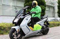 """未来を感じる軽二輪クラスの電動バイク! BMW「C evolution」で""""駆け抜ける歓び""""を実感"""