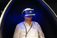 最大50人がバーチャル空間でリンク!PS VRを使った新感覚の集団体験型VRサービス「VirtuaLink」