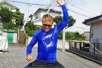 何分で乾くか検証! 「野球用アンダーシャツ」の速乾性がすごいんです