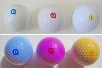 キャディーさんもたぶんビックリ! 太陽光で色が変わるゴルフボール