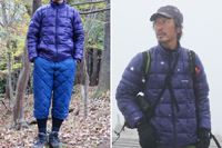 ダウンウェアの新潮流! 丈の長さが特徴的な防寒具、モンベル「スペリオダウン」シリーズ