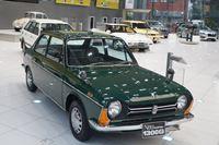 スバル360やレガシィツーリングワゴンなどの名車がそろう「六連星の名車展」