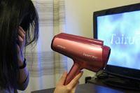 大風量でも63dB! 髪を乾かしながらテレビが見られるドライヤー