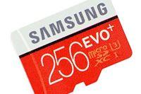 容量256GBのサムスン製microSDXCメモリーカード「EVO Plus 256GB」の実力をチェック!