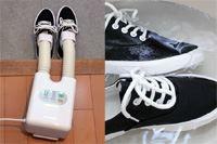 靴を120分で乾燥! 30分で脱臭! ひとり暮らしにいいA4サイズのシューズ乾燥機が超使える