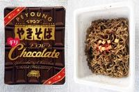 チョコレート味のスイーツペヤングを実食! そのお味やいかに?