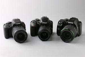 《2017春》初心者向け一眼レフカメラ徹底比較! キヤノン、ニコン、ペンタックスのどれを選ぶ?