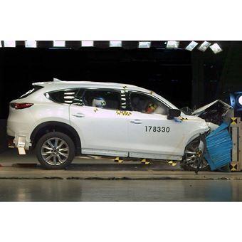 人気の7人乗りSUV「CX-8」に見る、マツダ車の衝突安全性能の進化
