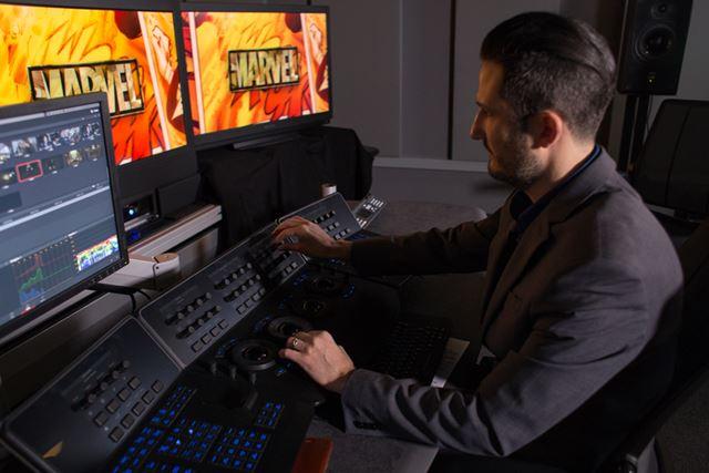 「Marvel アイアン・フィスト」のカラリストであるデラックス社のトニー・ディアモール氏
