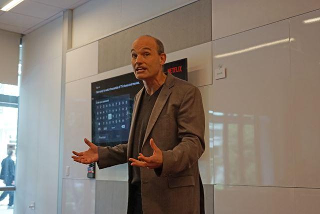 ユーザー体験を監修するNetflixプロダクト・イノベーション担当バイスプレジデントのトッド・イェリン氏