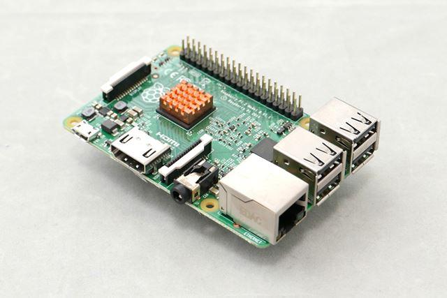 筆者所有の「Raspberry Pi 2  モデル B」