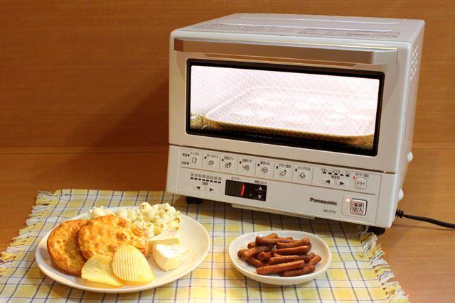 おせんべいやポテチをパリパリに復活させる!トーストがおいしいだけでは終わらない NB-DT51