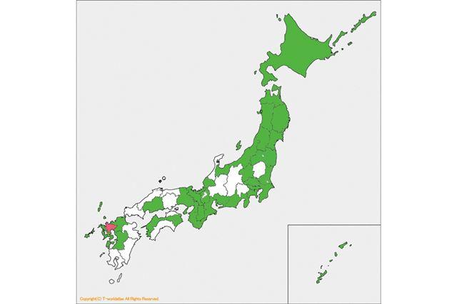 連載33回目は九州の佐賀でした。残すは、あと14か所です!