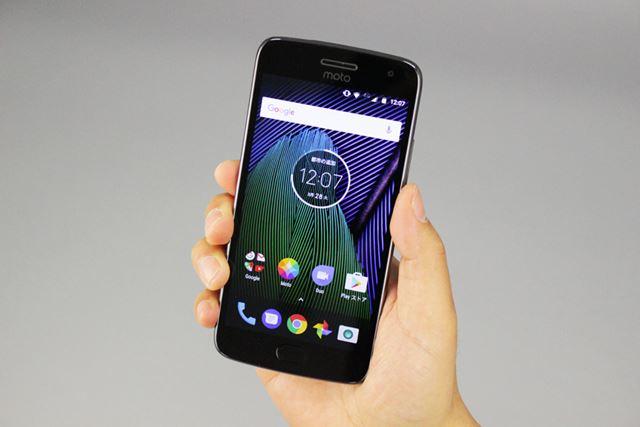 価格.comで人気を博した「Moto G4 Plus」の後継機「Moto G5 Plus」