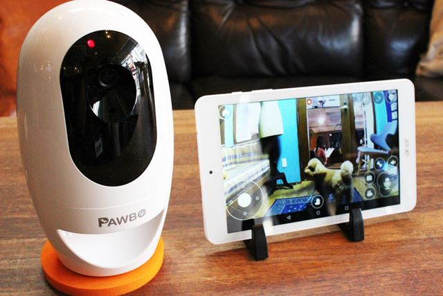 ペットを飼っているユーザー待望の製品「PAWBO+」