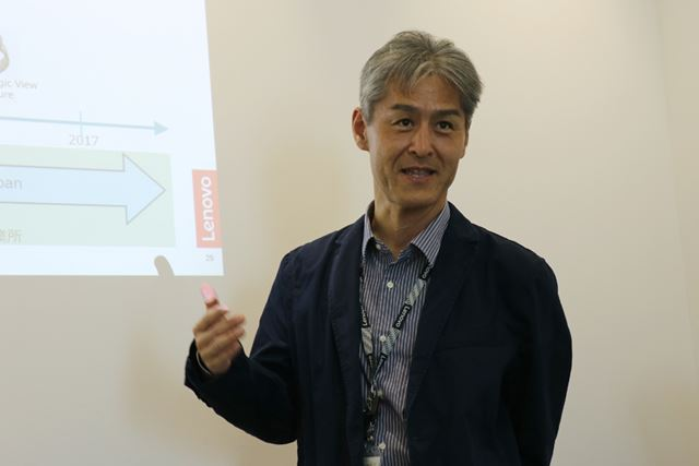 Research&Technology Japanのリーダーである河野誠一氏