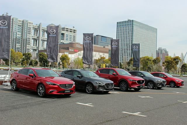 「i-ACTIVSENSE」は、「アテンザ」「アクセラ」「CX-5」「CX-3」「デミオ」の5車種に標準搭載される予定