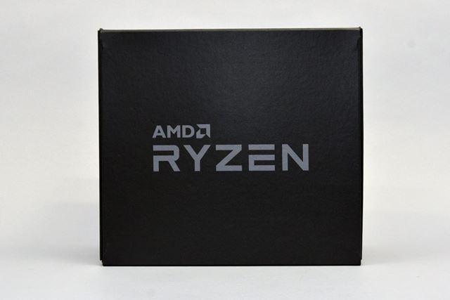 ファブリック素材でできた黒い専用ケースに収められて届いたRyzen 5のレビュー機材