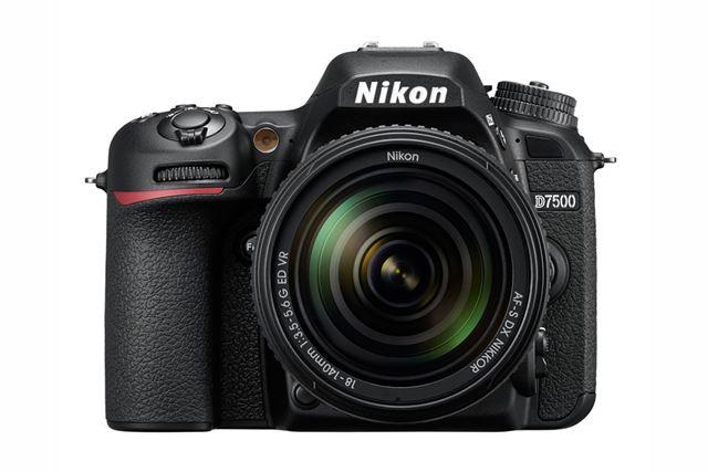 D7500(AF-S DX NIKKOR 18-140mm f/3.5-5.6G ED VR装着時)