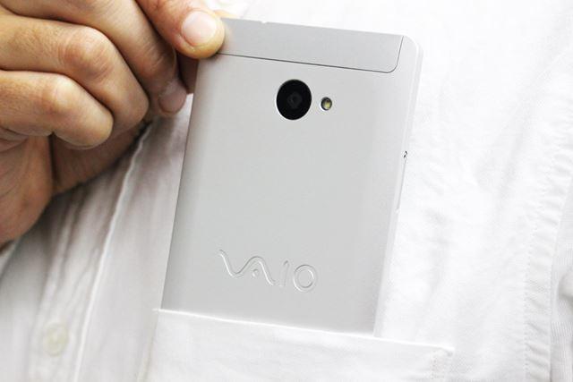 DSDS対応で2万円台の価格を実現した「VAIO Phone A」