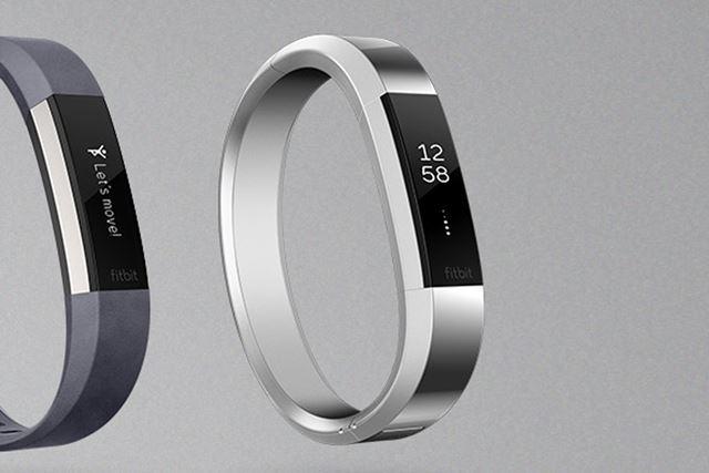 「Fitbit Alta HR」のメタル製バングルは、12,744円
