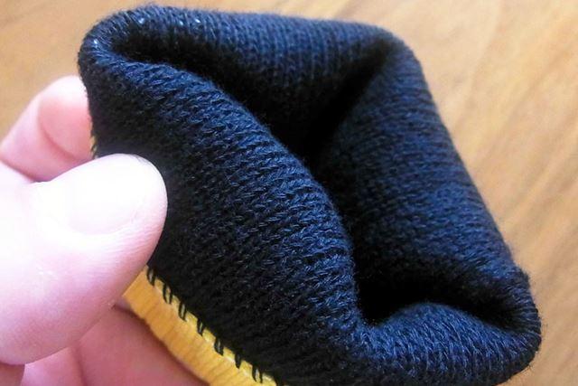 アウターと違ってインナーは手触りも柔らかく仕上がっています