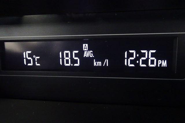 圏央道・入間IC〜中国道・作東IC往復(約1300km)の高速巡航平均燃費はリッターあたり18.5kmでした