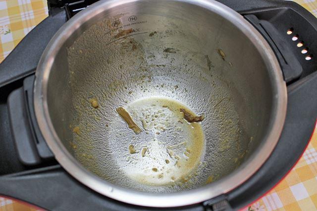 しかも、ヘルシオ ホットクックの内鍋には焦げつきなし!