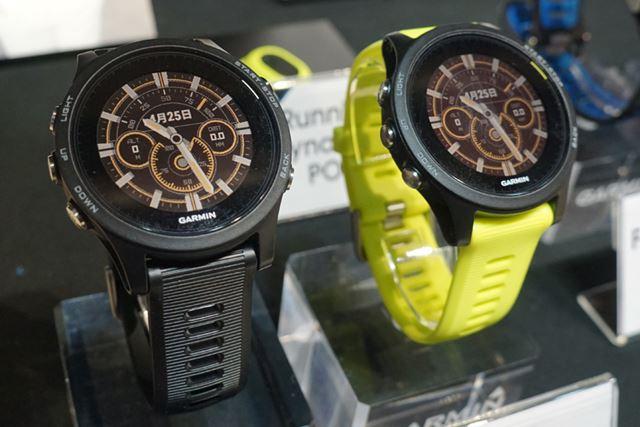 GPSウォッチ「ForeAthlete 935」は、ブラックとイエローの2色をそろえる
