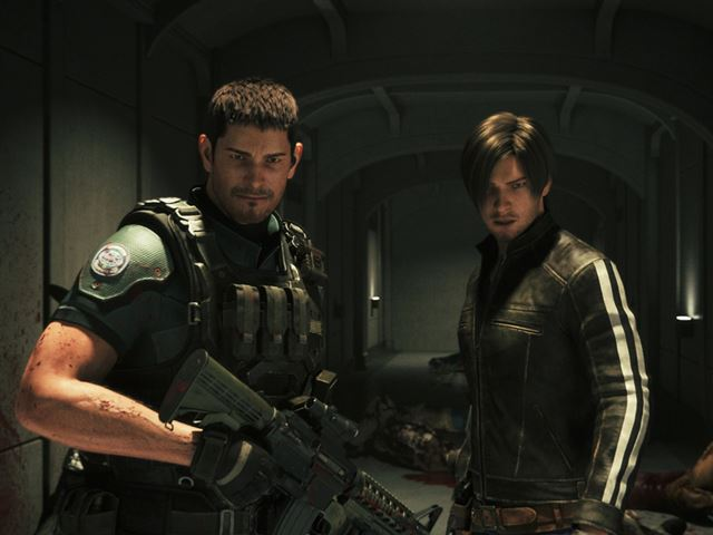 「バイオハザード」シリーズではおなじみのキャラクターのクリスとレオンが主人公として登場。