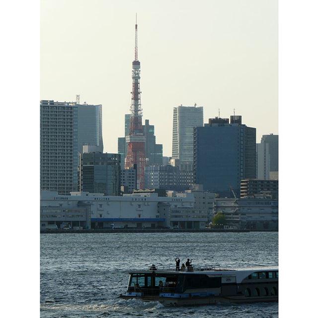上の作例を撮影した位置から東京タワーに向けて光学12倍程度にまでズームアップして撮ってみました