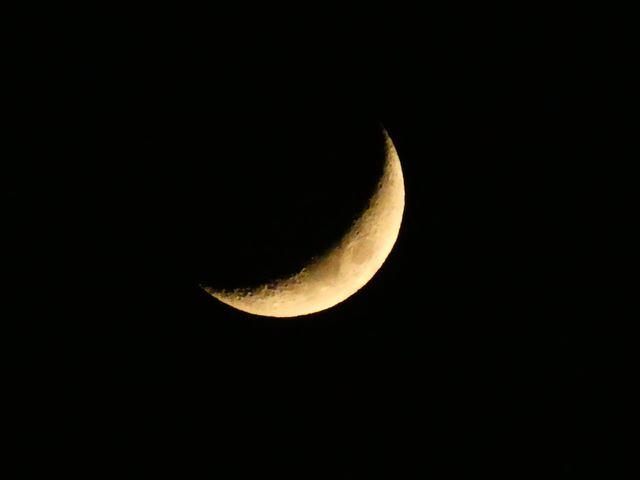 60倍(1440mm相当)だとカメラのみで月をここまで大きく写せます