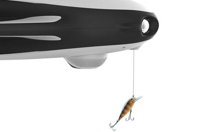 釣り餌投下機は、ANGLERとWIZARDモデルに同梱される