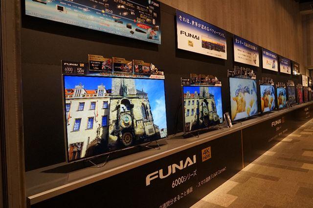 4K/2Kテレビは5シリーズ全11モデルを発表