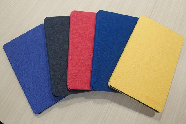 Fire HD 8専用純正カバーは5色のカラーバリエーションを用意