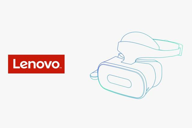 レノボのスタンドアロン型VRヘッドセット