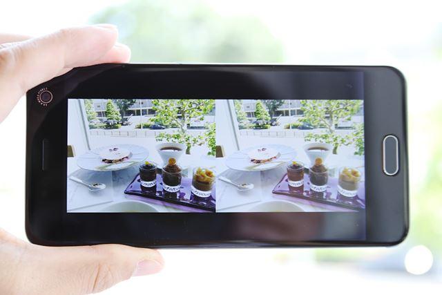 3D撮影すると、左右に分割された3D画像が保存される